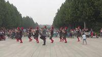 西粉營舞蹈隊《北江美》 完整版演示及分解教學演示