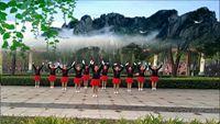 孝義鳳凰姐妹舞蹈隊《中國味道》編舞:王廣成 正反面演示及分解動作教學