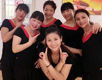 誓言廣場舞《藍藍的夜藍藍的夢》原創編舞 附教學 正背面口令分解動作教學演示