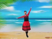 高安欣悦舞蹈 红马鞍 表演和动作分解 附正背表演口令分解动作分解教学