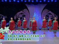応子廣場舞 天邊的格桑花 表演 口令分解動作教學