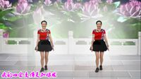 燕舞花香廣場舞《風情萬種》編舞:周周老師附正背面口令分解教學演示