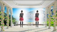 大竹柳北廣場舞《納西情歌》原創水兵舞 正背面演示及口令分解動作教學