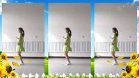 新樂飄雪廣場舞【哥哥妹妹】附玲玲教學 原創附教學口令分解動作演示