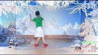茂名春苑冰花花廣場舞 《冰雪天堂》 編舞:應子;習舞攝制:冰花花 原創附教學口令分解動作演示