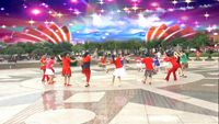 重慶冰彩廣場舞(空港隊)《唐古拉風暴》編舞:楊麗萍(圈圈舞) 正反面演示及分解動作教學