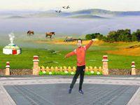 歆舞心悦舞蹈《雕花的马鞍》蒙古舞 编舞:凤凰六哥 正反面演示及分解动作教学