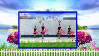 信陽鳳之凰廣場舞《中國歌最美》雙扇子舞 正背面演示及慢速口令教學