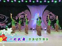 応子廣場舞  一起跳舞 背面展示 正背面演示及慢速口令教學