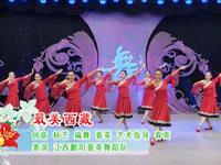 春英廣場舞  最美西藏 正面表演 原創附正背面教學口令分解動作演示