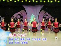 刘荣舞蹈 江南style 表演 正背面演示及口令分解动作教学