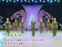 刘荣舞蹈  天海长城 表演 原创附正背面教学口令分解动作演示