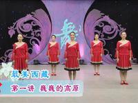 春英廣場舞 最美西藏 講課 正背面口令分解動作教學演示