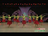 刘荣舞蹈  中国style 表演 正背面演示及口令分解动作教学和背面演