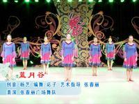 張春麗廣場舞 藍月谷 口令分解動作教學演示