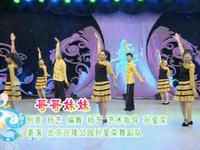 楊藝廣場舞 哥哥妹妹 表演 正背面口令分解動作教學演示