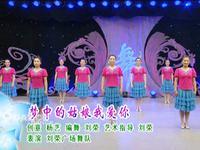 刘荣舞蹈 梦中的姑娘我爱你 表演 完整版演示及分解教学演示