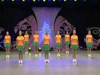 春英廣場舞  感到幸福你就拍拍手 表演 原創附正背面教學口令分解動作演示