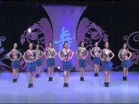 美久舞蹈 我在人民广场跳舞蹈 表演 原创附教学口令分解动作演示