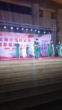 文安,新镇旗袍队,水墨江南表演团队版 正反面演示及分解动作教学