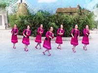 西安亲青舞蹈 燕微泥 正背表演与动作分解 经典正背面演示及口令分解动作教学