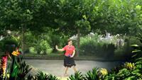 陽光姊妹《青兒廣場舞 三步踩:憂傷的華爾茲(團隊演示)》經典正背面演示及口令分解動作教學