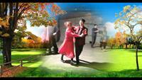 晓霞舞蹈《小苹果》正背面口令分解动作教学演示