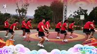 茶葫蘆廣場紅歌連跳表演團隊版 正背面演示及慢速口令教學
