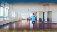 贛州微馬章貢隊輕舞飛揚隊紅歌連跳一表演個人版 經典正背面演示及口令分解動作教學