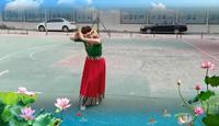 夢之蘭舞蹈隊心上的羅加表演團隊版 正背面演示及口令分解動作教學
