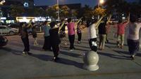 大辮子(晚練實拍)《紅歌連跳》正在學習中表演團隊版 正背面演示及慢速口令教學