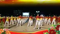 廣東省樂昌大眾東方之珠表演團隊版附正背面口令分解教學演示