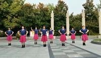 舞美乐蓝色天梦表演团队版 完整版演示及口令分解动作教学