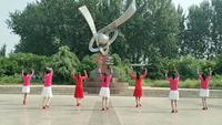 滕州協會琴飛揚舞蹈隊《紅歌連跳》表演團隊版 正背面演示及口令分解動作教學