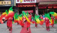 西安幸福時光舞蹈隊開門紅表演團隊版 正背面演示及口令分解動作教學