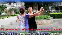 快樂姐妹舞蹈隊蓮的心事表演雙人版 經典正背面演示及口令分解動作教學