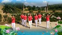 天使秀尔舞蹈队2019一起嗨表演团队版 正反面演示及分解动作教学