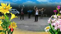 蓮花處處開《山里人樂的好瀟灑》正背面演示及慢速口令教學