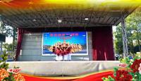 沧溪龚徐舞队一起走天涯表演团队版 经典正背面演示及口令分解动作教学