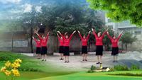 新寧崀山,姐妹舞蹈隊,《美觀》完整版演示及口令分解動作教學