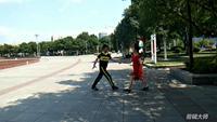 安吉星舞团中国丰舞三套★酒醉的蝴蝶表演双人版 正背面演示及口令分解动作教学和背面演