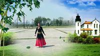 西安直城门舞蹈队舞动楼兰表演个人版 完整版演示及口令分解动作教学
