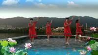 肇慶市美美樂健身隊蕎麥花表演團隊版 附正背表演口令分解動作分解教學