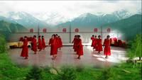 太原武宿美美噠舞蹈隊站著等你三千年表演團隊版 正背面演示及口令分解動作教學和背面演