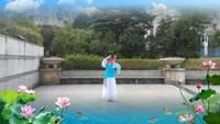 樂業舞林隊旗袍美人表演個人版 正背面演示及口令分解動作教學和背面演