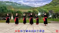 長沙舞之樂舞蹈隊站著等你三千年表演個人版 正背面演示及口令分解動作教學和背面演