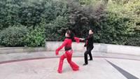 世紀交誼舞隊山谷里的思念表演雙人版 完整版演示及口令分解動作教學