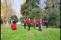 福景美地舞蹈隊心上的羅加表演團隊版附正背面口令分解教學演示