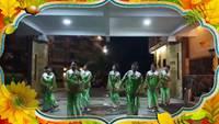 和平健身隊參加印度尼西亞表演山谷里的思念表演團隊版 完整版演示及分解教學演示