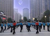 杭州西湖文化舞蹈 向上攀爬